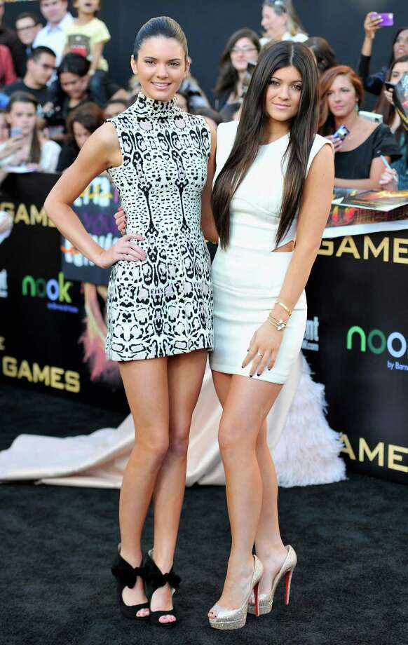 Kendall and Kylie Jenner grow up right before our eyes. Photo: Alberto E. Rodriguez, Getty Images / 2012 Getty Images
