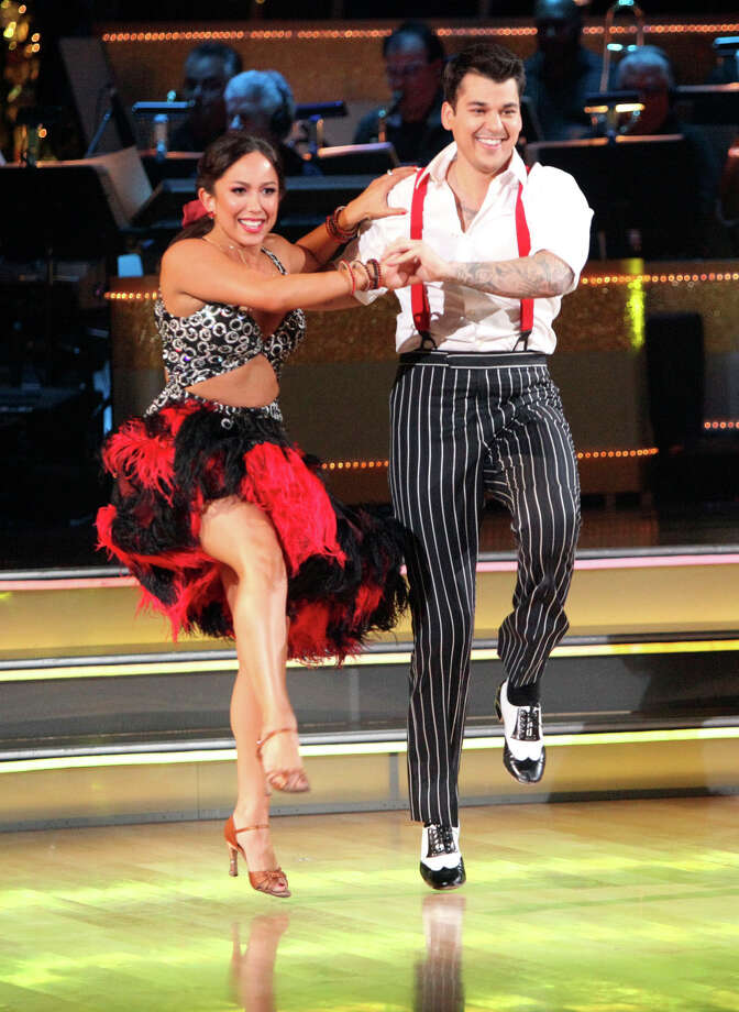 Following in the footsteps of his sister, Kim, Rob shook things up on Dancing With The Stars. Photo: Adam Taylor, Associated Press / American Broadcasting Companies,