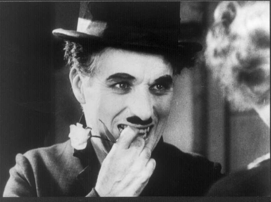 Charlie Chaplin, suggested by MLS.