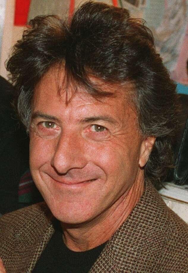 Dustin Hoffman, an actor, yes, but also an idea, an image -- ergo, a movie star.