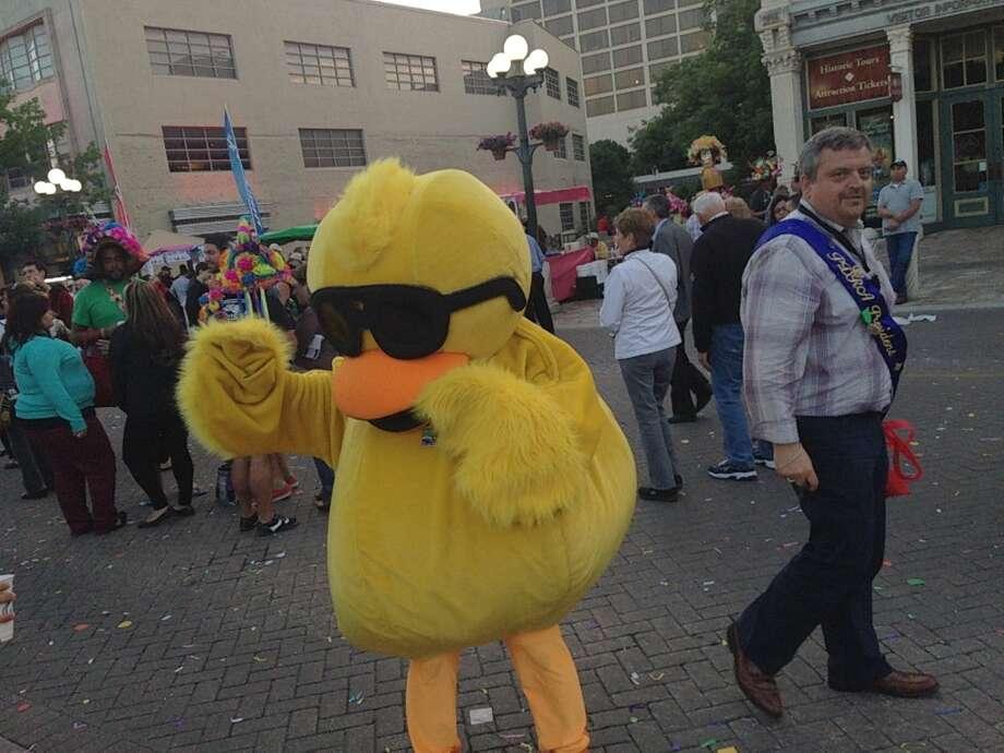 A random rubber duckie.