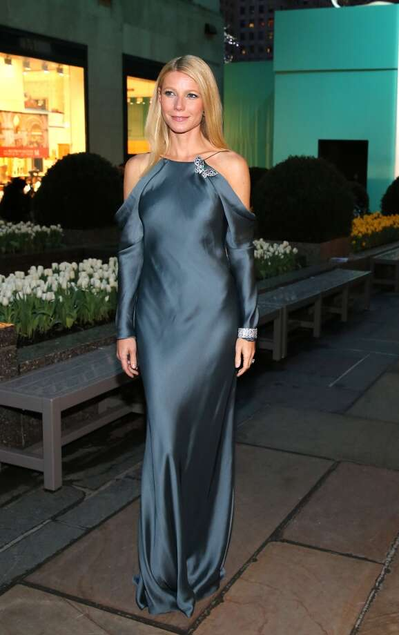 Actress Gwyneth Paltrow is wearing Diamonds from the Tiffany & Co. 2013 Blue Book Collection at the Tiffany & Co. Blue Book Ball at Rockefeller Center on April 18, 2013 in New York City.