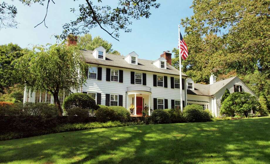 The Colonial at 241 Burr St. is on the market for $1.455 million. Photo: Contributed Photo / Fairfield Citizen contributed