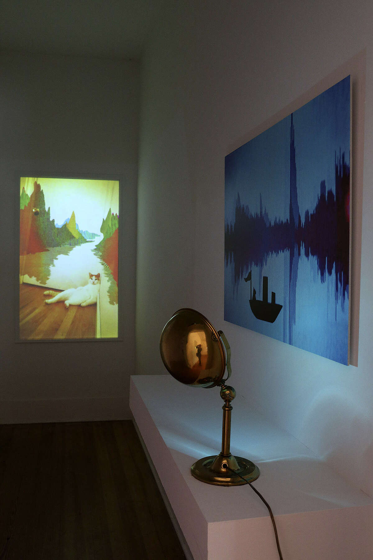 Kate Terrell's exhibit was awarded a Through the Looking Glass award.