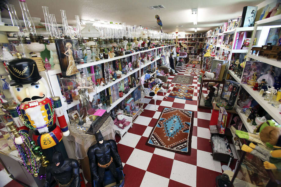 Although Barbie reigns supreme with Castroville resident Doris McDaniel, her collection also includes Cabbage Patch Kids, Peanuts character dolls, Mickey and Minnie Mouse as well as Avon bottles. Photo: Photos By Tom Reel / San Antonio Express-News