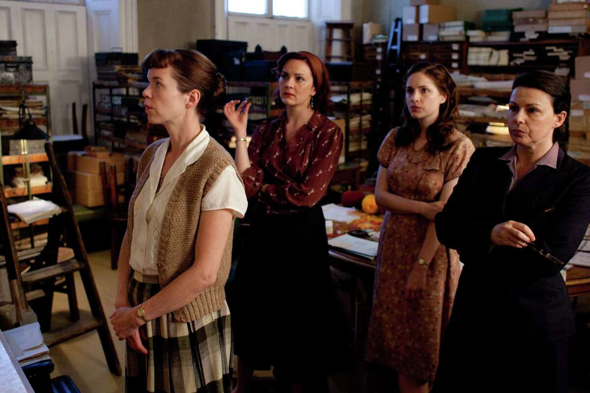 """The """"Bletchley Circle"""" actresses: Anna Maxwell Martin (from left), Rachael Stirling, Sophie Rundle and Julie Graham."""