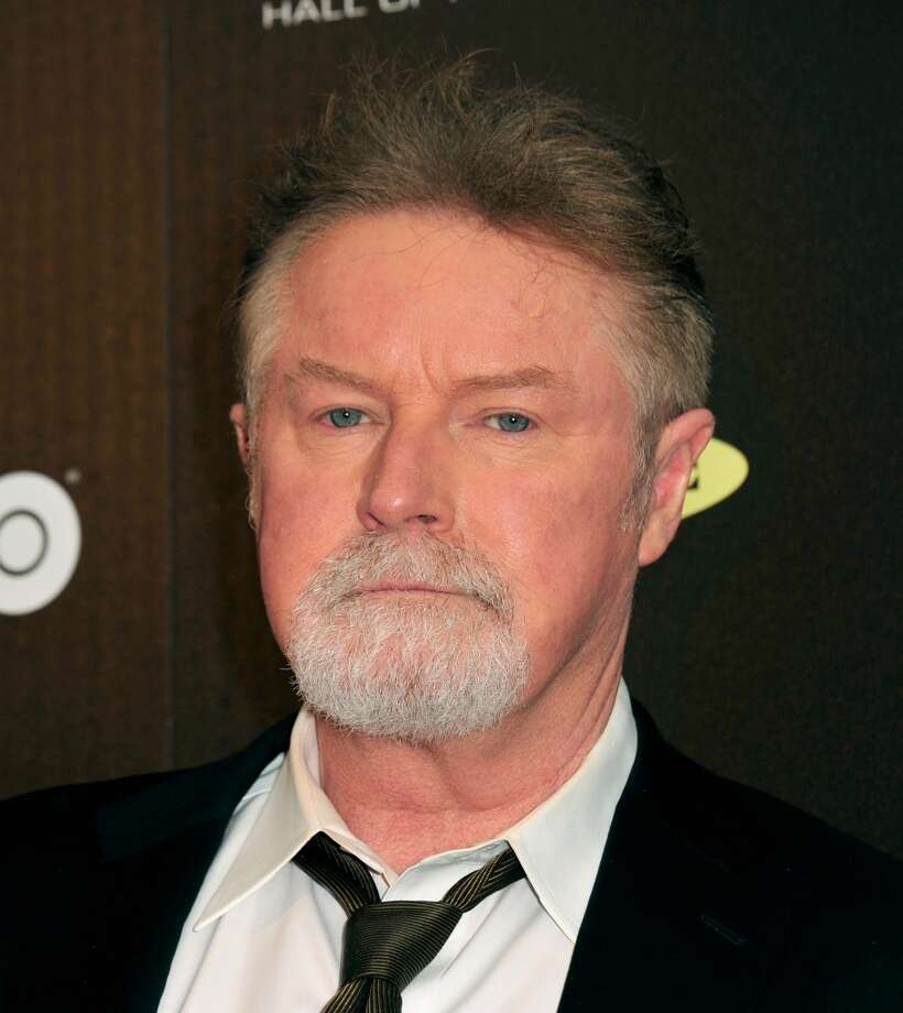 Musician Don Henley poses in the press room at the 28th Annual Rock and Roll Hall of Fame Induction Ceremony at Nokia Theatre L.A. Live at Nokia Theatre L.A. Live on April 18, 2013 in Los Angeles, California.  (Photo by Mark Sullivan/FilmMagic)