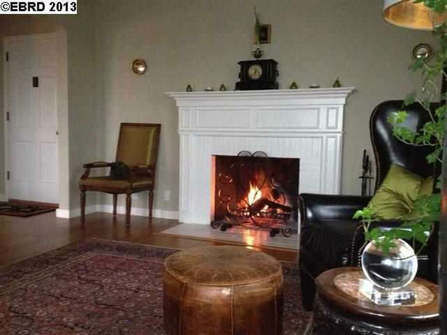 A fire place is a good selling point.
