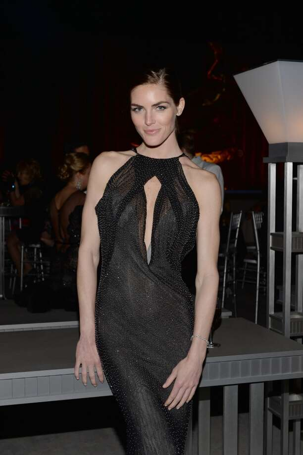 Model Hilary Rhoda is wearing Diamonds from the Tiffany & Co. 2013 Blue Book Collection at the Tiffany & Co. Blue Book Ball at Rockefeller Center on April 18, 2013 in New York City.
