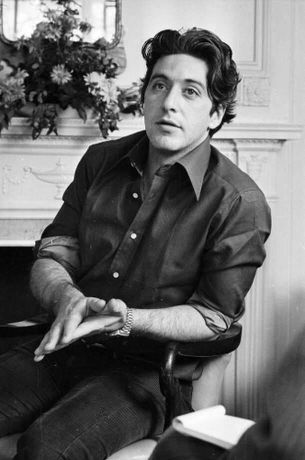 Al Pacino on March 25, 1974.  Suggested by steve G. Photo: Steve Wood, Getty Images / Hulton Archive