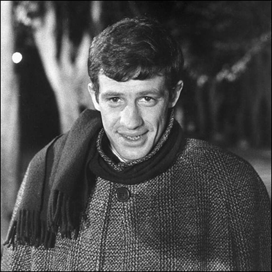 Jean Paul Belmondo, the symbol of the French New Wave.