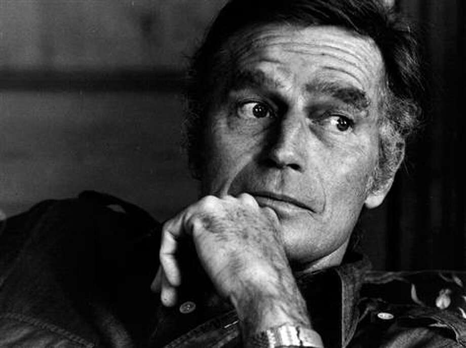Charlton Heston, suggested by MLS.