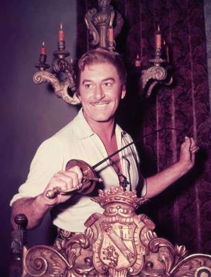 Errol Flynn, what movie stars were all about 70 years ago.