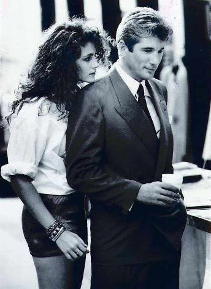 Richard Gere, symbol of a certain kind of late 20th century manhood.