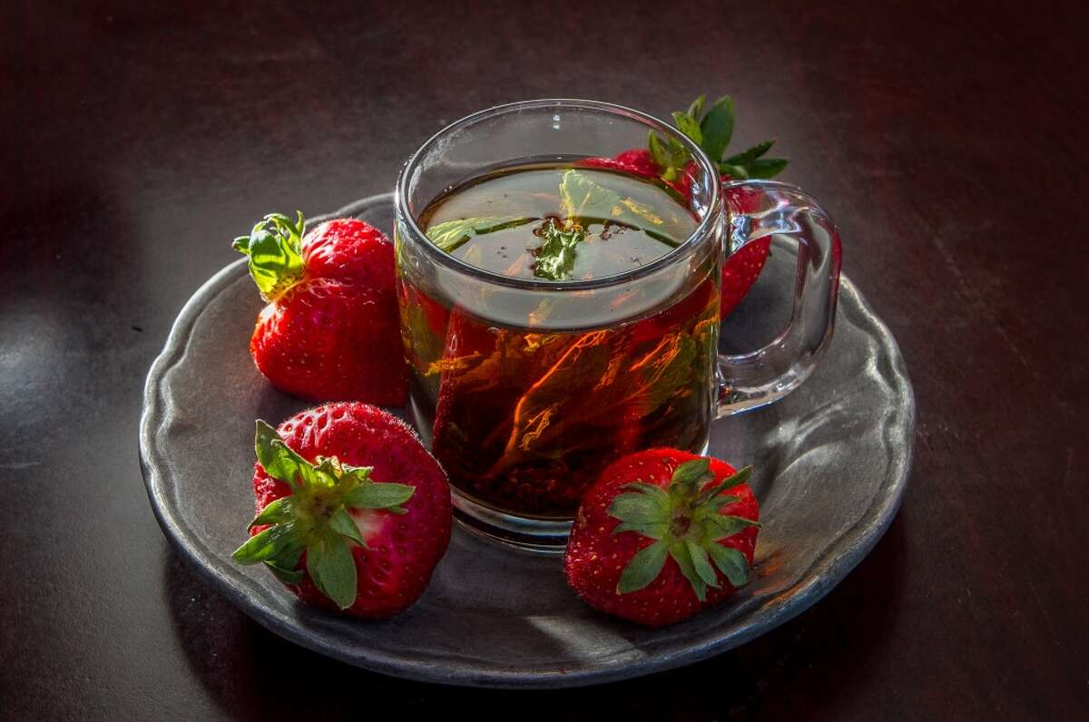The Mint and Rosewater Tea ($2.50)