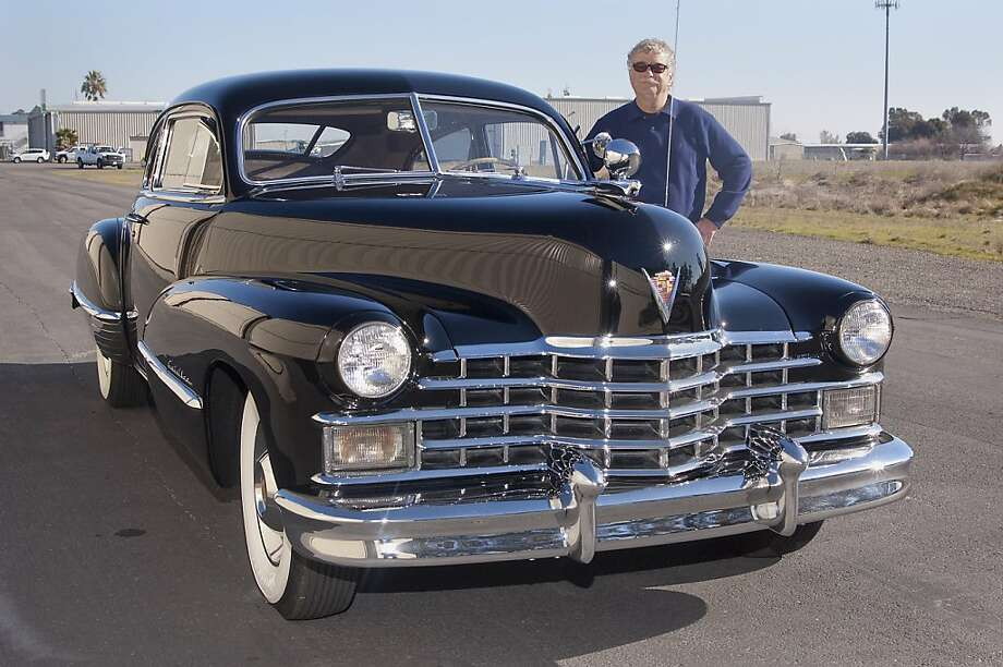 Allan McCrary is a former NASA pilot who got his Cadillac at a collector car auction in Southern California. Photo: Stephen Finerty, Photograph By Stephen Finerty -