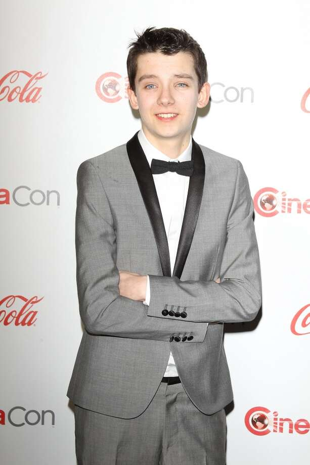 Asa Butterfield arrives at the CinemaCon 2013 Big Screen Achievement Awards held at Caesars Palace during CinemaCon, the official convention of the National Association of Theatre Owners on April 18, 2013 in Las Vegas, Nevada.