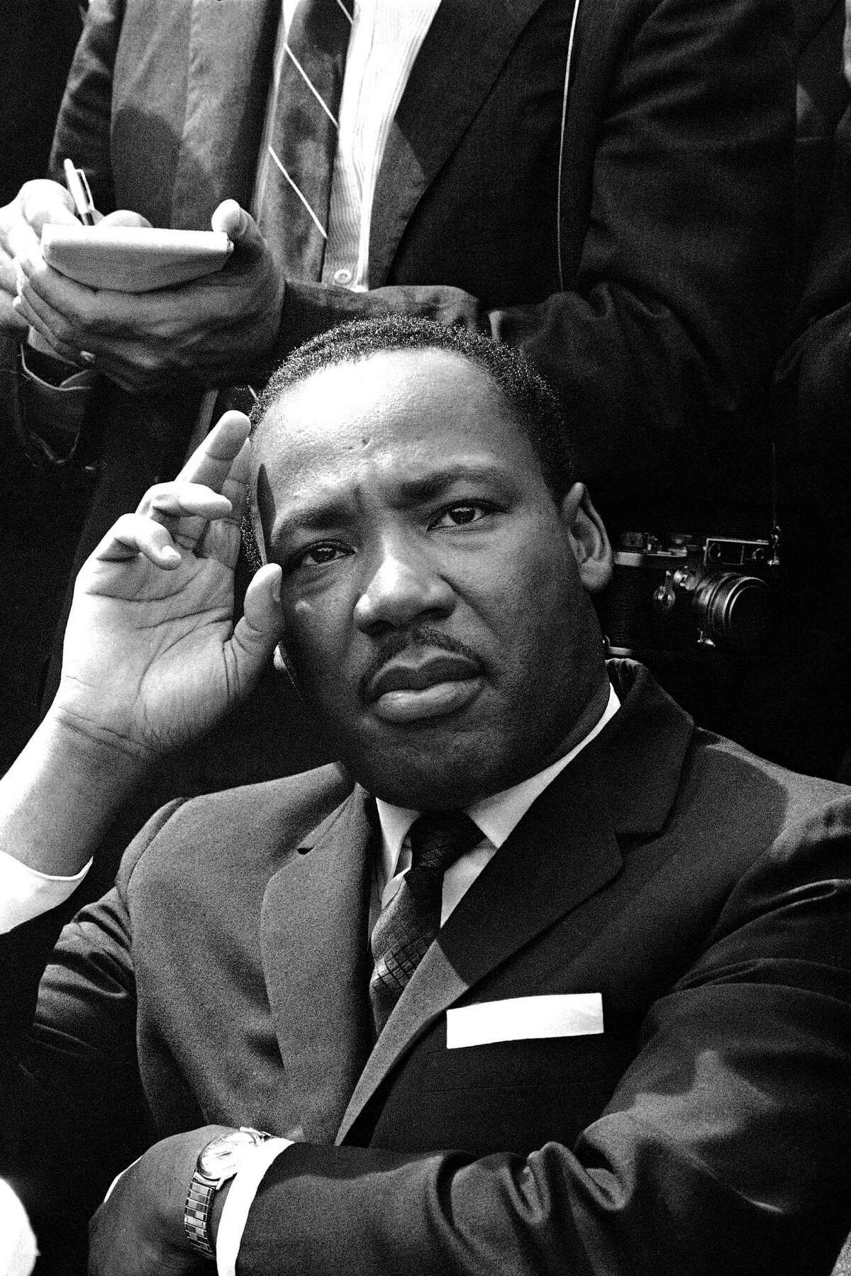 """""""Injustice anywhere is a threat to justice everywhere,"""" the Rev. Martin Luther King Jr. wrote in a jail cell in 1963."""