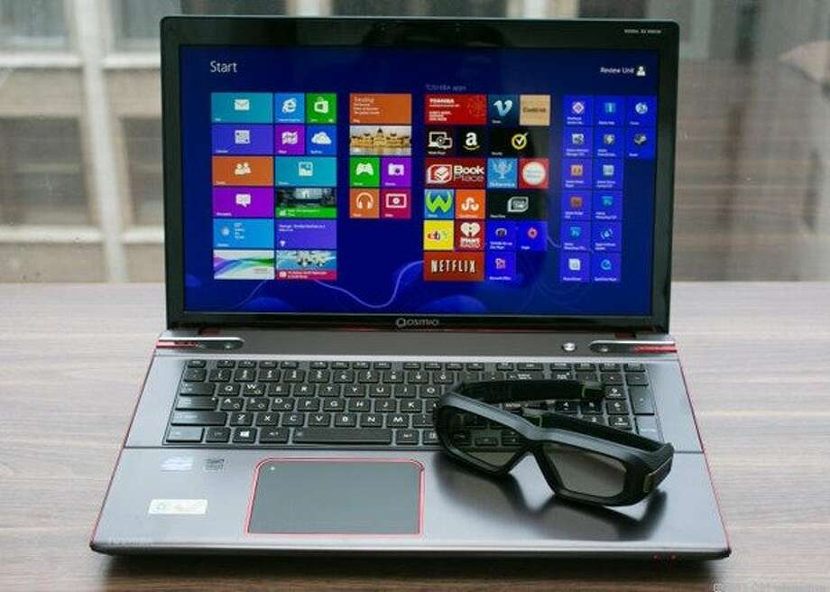Toshiba Qosmio X875 Photo: Cnet Review