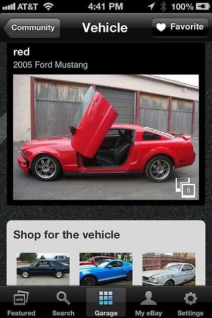 App Of The Week Ebay Motors Sfchronicle Com