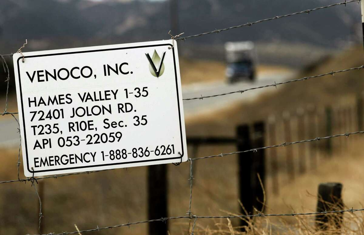 One of several sites where the oil company Venoco Inc. dug tests wells last year looking for oil or natural gas deposits in the Monterey Shale. The formation's complex and disjointed geography has rewarded the industry's efforts with only mixed results thus far.