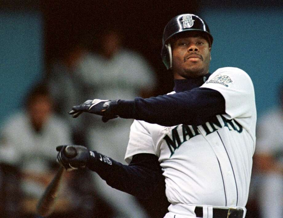 Center field: Ken Griffey Jr. (1989-99, 2009-10)  Junior. The Kid. The Natural. He\'s one of the best players the game has ever seen. A 13-time All-Star, mostly when he was in Seattle, his cumulative batting average with the Mariners was .292 over 13 years -- including his returning two seasons in 2009 and 2010. Griffey led the A.L. in homers four years, was named MVP in 1997 and ... jeez, his spectacular statistics don\'t even do him justice. He\'ll be inducted to the Mariners Hall of Fame this year.