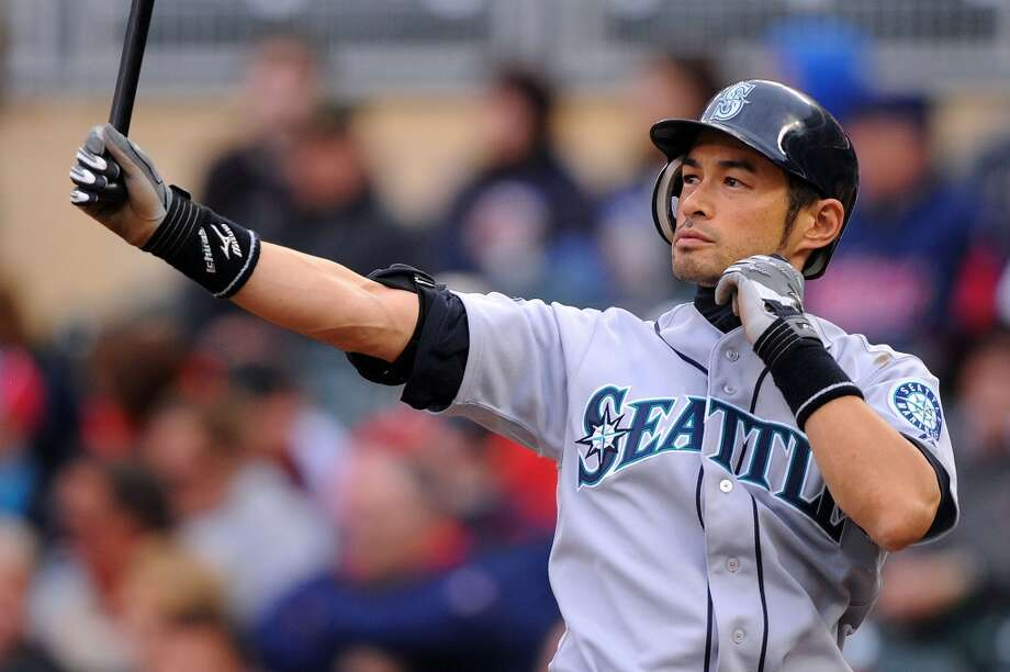 Right field: Ichiro Suzuki (2001-12)  How could it not be Ichiro? A 10-time All-Star, he was traded to the Yankees midway through 2012 but will always be in Seattle\'s hearts. In 2001, his first MLB season having come over from Japan, he won the A.L. batting title hitting .350 and  was named MVP and Rookie of the Year. Ichiro batted a whopping .372 in 2004, with another batting title, and left Seattle with a .322 cumulative average in 12 years with the M\'s.