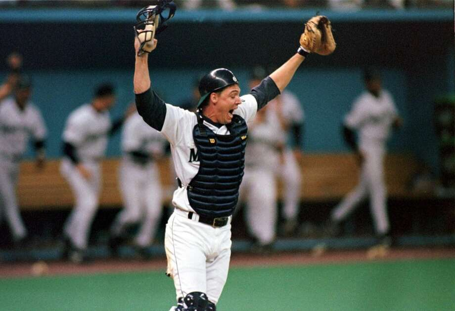 Catcher: Dan Wilson (1994-2005)\'\'Dan the Man\'\' is our hands-down choice for catcher. He joined the M\'s in 1994, just in time for their \'95 playoff run, and was the starting catcher for Seattle until he retired in 2005. Wilson batted .262 over his 12 years with the Mariners, made the A.L. All-Star team in 1996 and is now in the M\'s Hall of Fame.