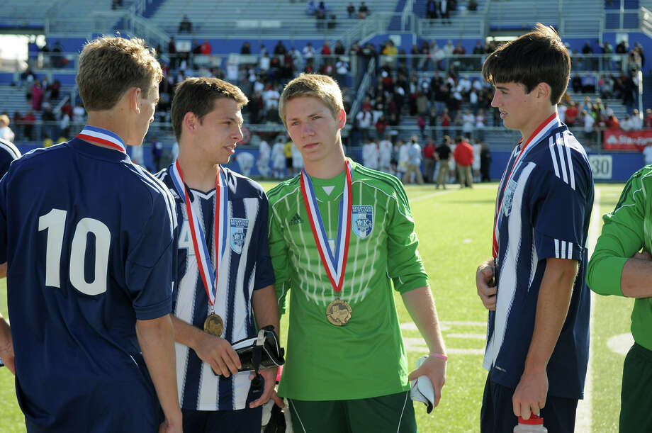 Rory Mageean (right) D, Sr., Kingwood  Photo: Jerry Baker, For The Chronicle