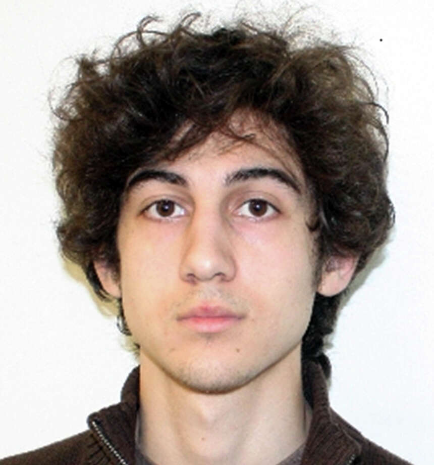 This photo released Friday, April 19, 2013 by the Federal Bureau of Investigation shows a suspect that officials identified as Dzhokhar Tsarnaev, being sought by police in the Boston Marathon bombings Monday. Photo: HOPD / Federal Bureau of Investigation