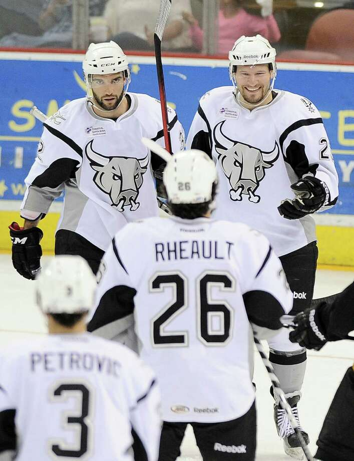 Jack Combs scored two goals for the Rampage in defeat.