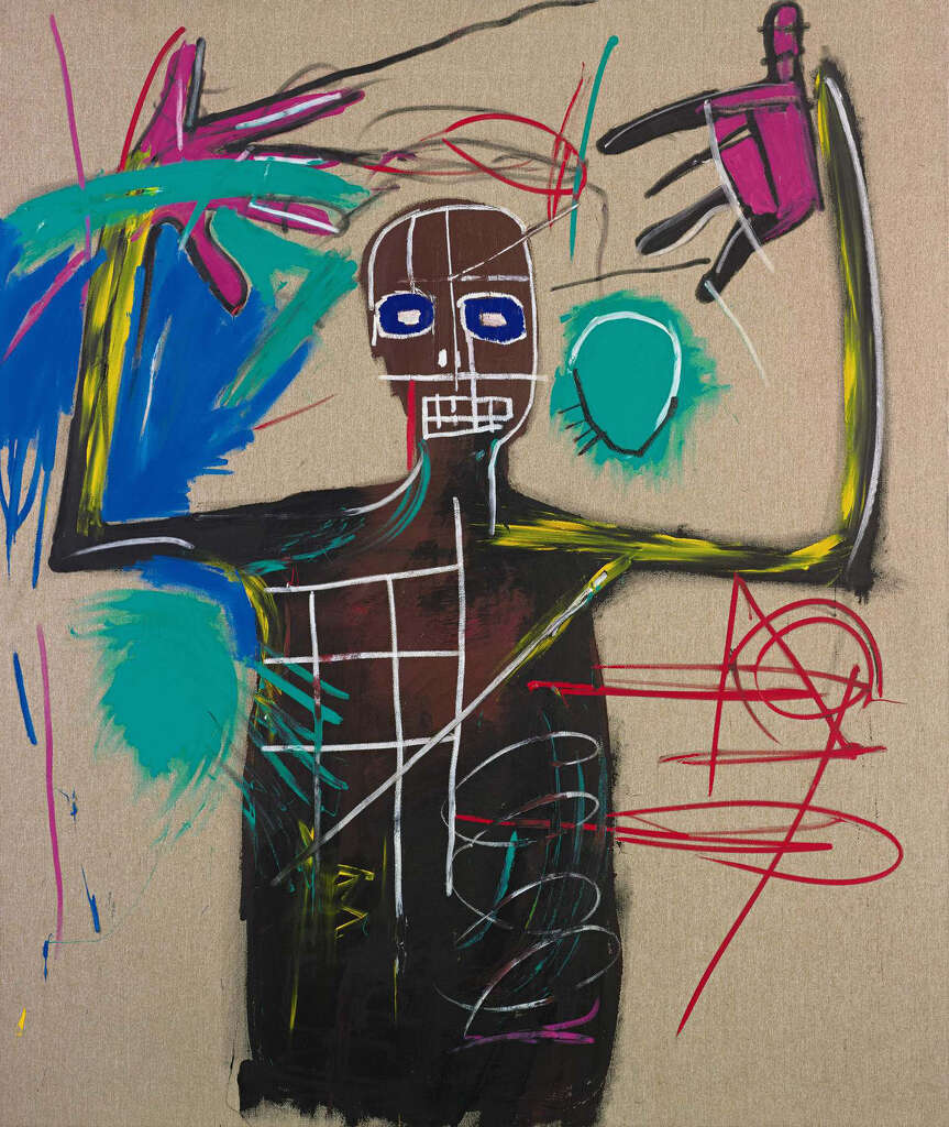 Art Bag Nyc Works By Artist Basquiat To Appear At Nyc Exhibit Times Union