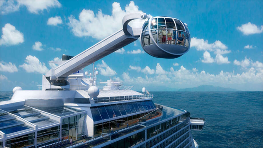 North Star, Quantum of the Seas' most distinctive feature, takes Royal Caribbean passengers to new heights - more than 300 feet above sea level.