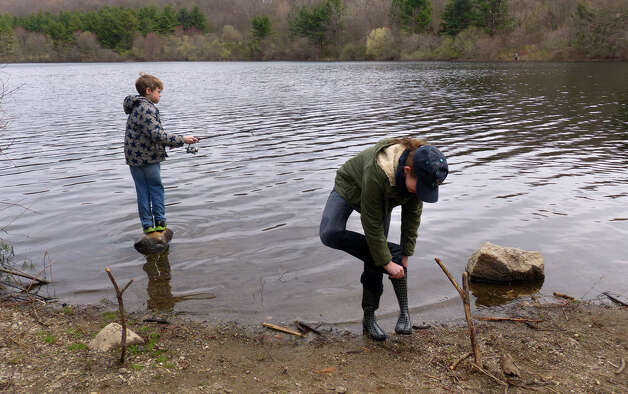 Anglers seek the big one on opening day