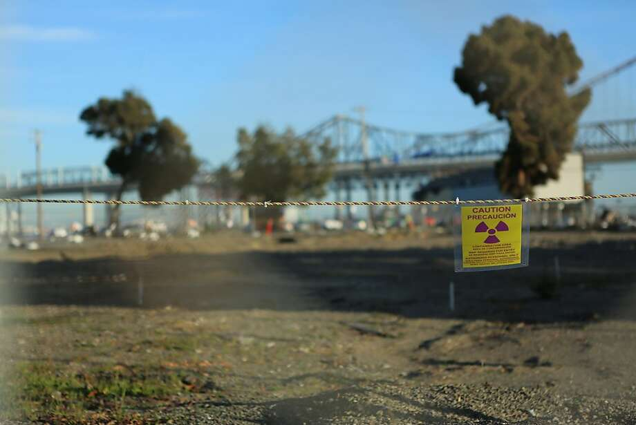 Land on Treasure Island contains elevated concentrations of cesium-137, a byproduct of nuclear fission. Photo: Kerri Connolly, Center For Investigative Reporti