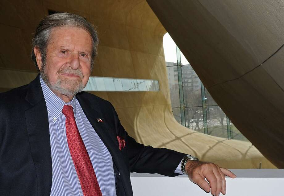 Philanthropist Tad Taube helped fund and plan the Museum of the History of Polish Jews in Warsaw. Photo: Alik Keplicz, Associated Press