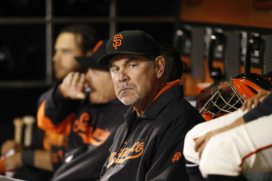 Bruce Bochy, the National League's youngest manager when his career began, is now one of the elder statesmen among major-league skippers. Photo: Carlos Avila Gonzalez, The Chronicle