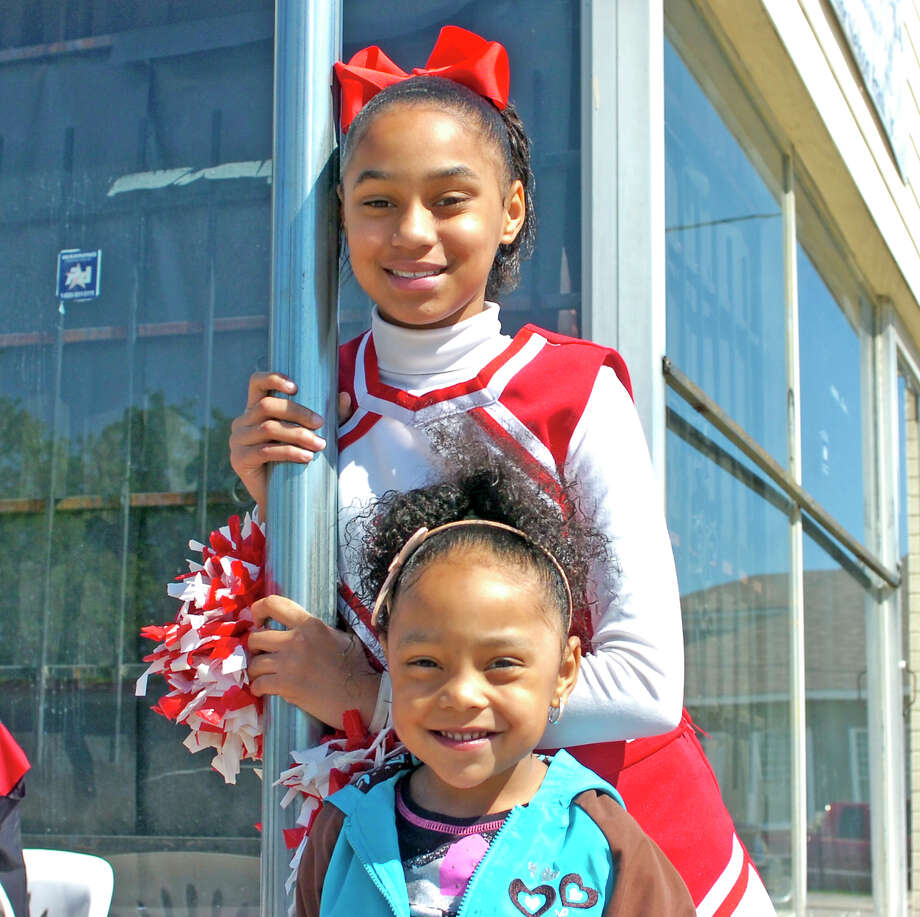 Gorgeous spring weather greeted the 65th Annual Neches River Festival Parade in downtown Beaumont on Saturday. Parade goers were treated to spirited performances by Beaumont's school bands, cheerleaders and dancers. Photo: Sarah Moore