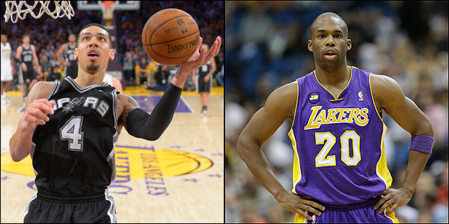 Shooting guard: Spurs' Danny Green vs. Lakers' Jodie Meeks.