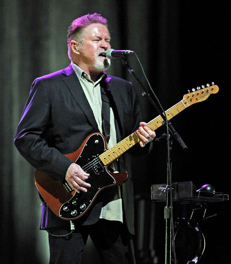 Don Henley The Eagles might sing about a hotel in California, but there was a Texan in their mist. Band mate Don Henley was born in Gilmer, Texas and grew up in Linden. He attended Stephen F. Austin State University in Nacogdoches before transferring to the University of North Texas in Denton. Photo: Randy Edwards