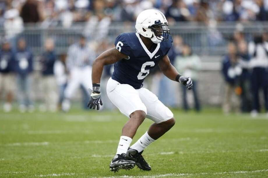 Gerald Hodges, OLB, 6-1, 243, Penn State