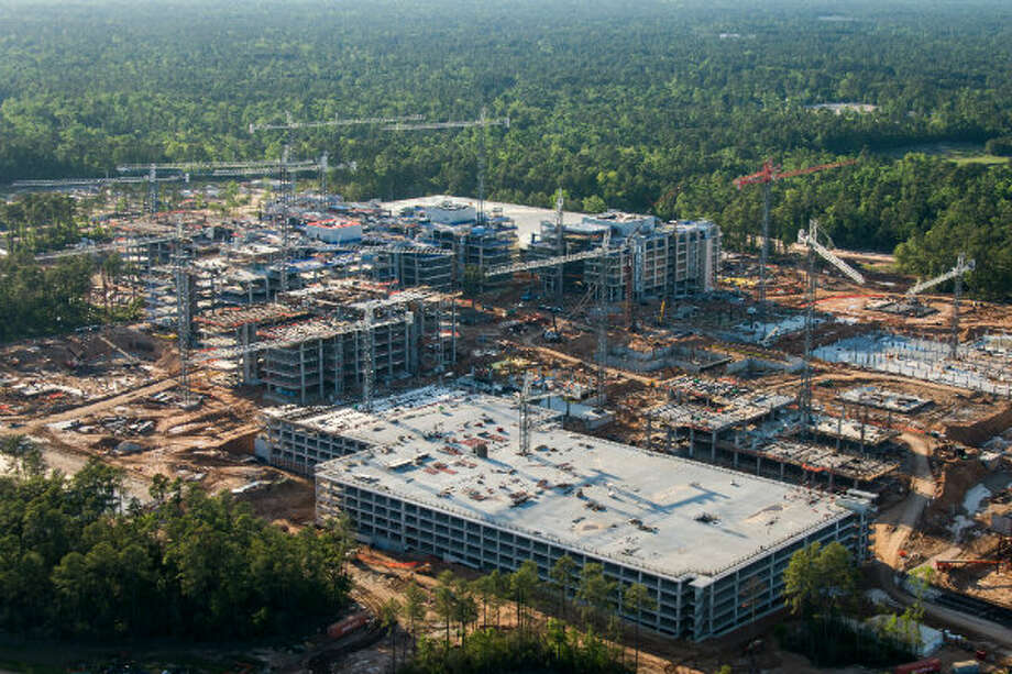 Employees will begin moving into the complex in early 2014.