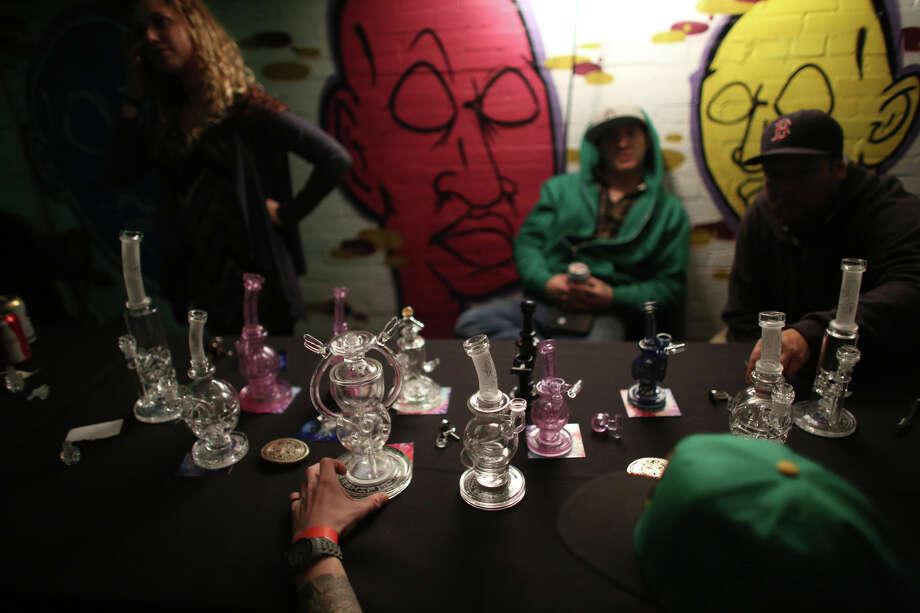 Mothership glass products are shown. Photo: JOSHUA TRUJILLO, SEATTLEPI.COM / SEATTLEPI.COM