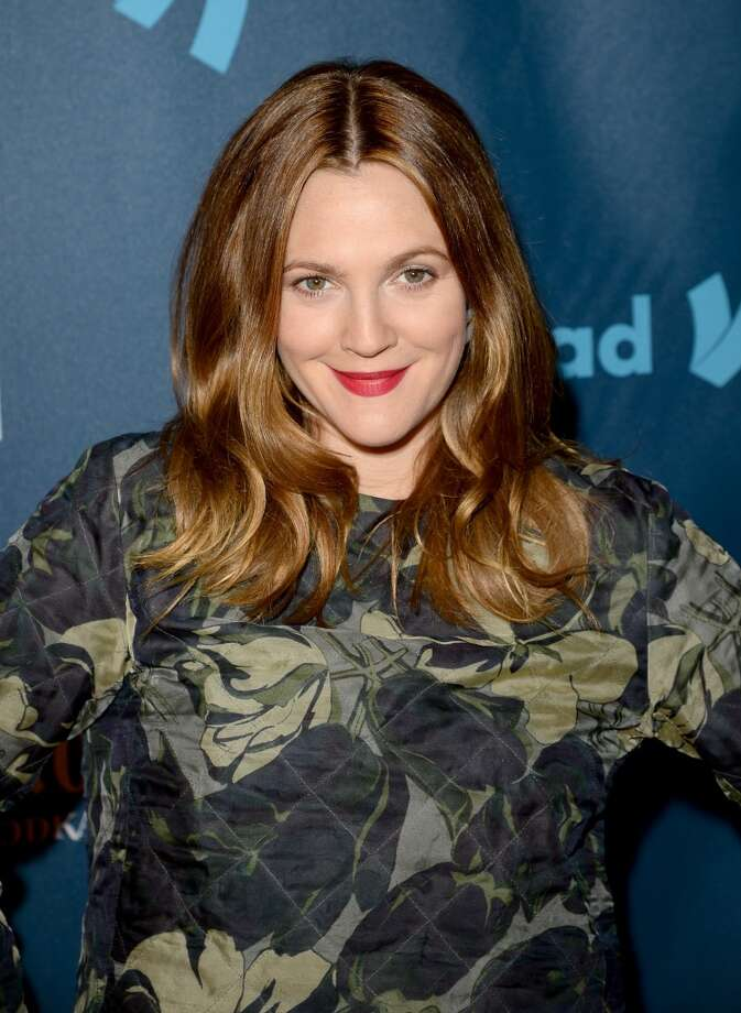 Actress Drew Barrymore arrives at the 24th Annual GLAAD Media Awards presented by Ketel One and Wells Fargo at JW Marriott Los Angeles at L.A. LIVE on April 20, 2013 in Los Angeles, California.  (Photo by Jason Merritt/Getty Images for GLAAD)