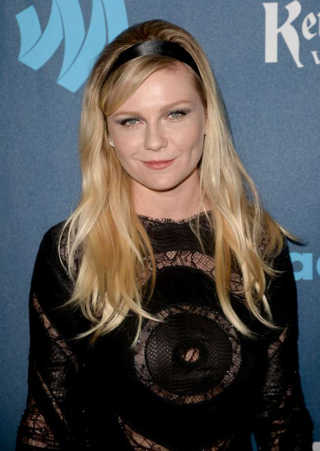 Actress Kirsten Dunst arrives at the 24th Annual GLAAD Media Awards presented by Ketel One and Wells Fargo at JW Marriott Los Angeles at L.A. LIVE on April 20, 2013 in Los Angeles, California.  (Photo by Jason Merritt/Getty Images for GLAAD)