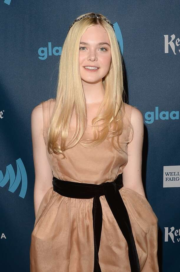 LOS ANGELES, CA - APRIL 20:  Actress Elle Fanning attends the 24th Annual GLAAD Media Awards presented by Ketel One and Wells Fargo at JW Marriott Los Angeles at L.A. LIVE on April 20, 2013 in Los Angeles, California.  (Photo by Jason Merritt/Getty Images for GLAAD)