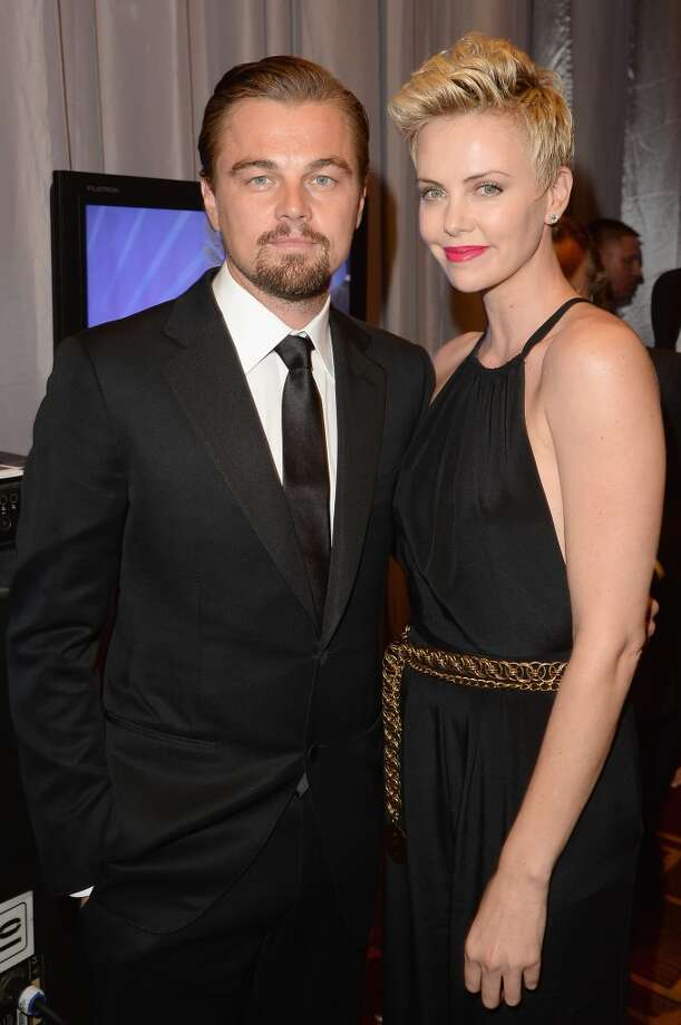 LOS ANGELES, CA - APRIL 20:  Actors Leonardo DiCaprio and Charlize Theron attend the 24th Annual GLAAD Media Awards presented by Ketel One and Wells Fargo at JW Marriott Los Angeles at L.A. LIVE on April 20, 2013 in Los Angeles, California.  (Photo by Jason Merritt/Getty Images for GLAAD)