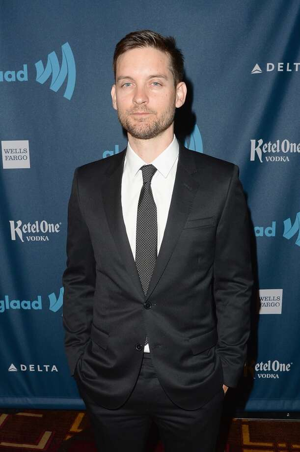 LOS ANGELES, CA - APRIL 20: Tobey Maguire attends the 24th Annual GLAAD Media Awards presented by Ketel One and Wells Fargo at JW Marriott Los Angeles at L.A. LIVE on April 20, 2013 in Los Angeles, California.  (Photo by Jason Merritt/Getty Images for GLAAD)