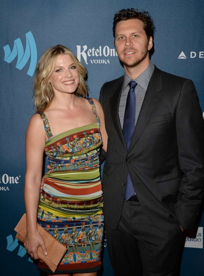 LOS ANGELES, CA - APRIL 20:  Actors Ali Larter and Hayes MacArthur arrive at the 24th Annual GLAAD Media Awards presented by Ketel One and Wells Fargo at JW Marriott Los Angeles at L.A. LIVE on April 20, 2013 in Los Angeles, California.  (Photo by Jason Merritt/Getty Images for GLAAD)
