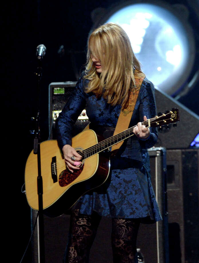 Indcutee Nancy Wilson of Heart performs on stage at the 28th Annual Rock and Roll Hall of Fame Induction Ceremony at Nokia Theatre L.A. Live on April 18, 2013 in Los Angeles, California. Photo: Kevin Winter, Getty Images / 2013 Getty Images